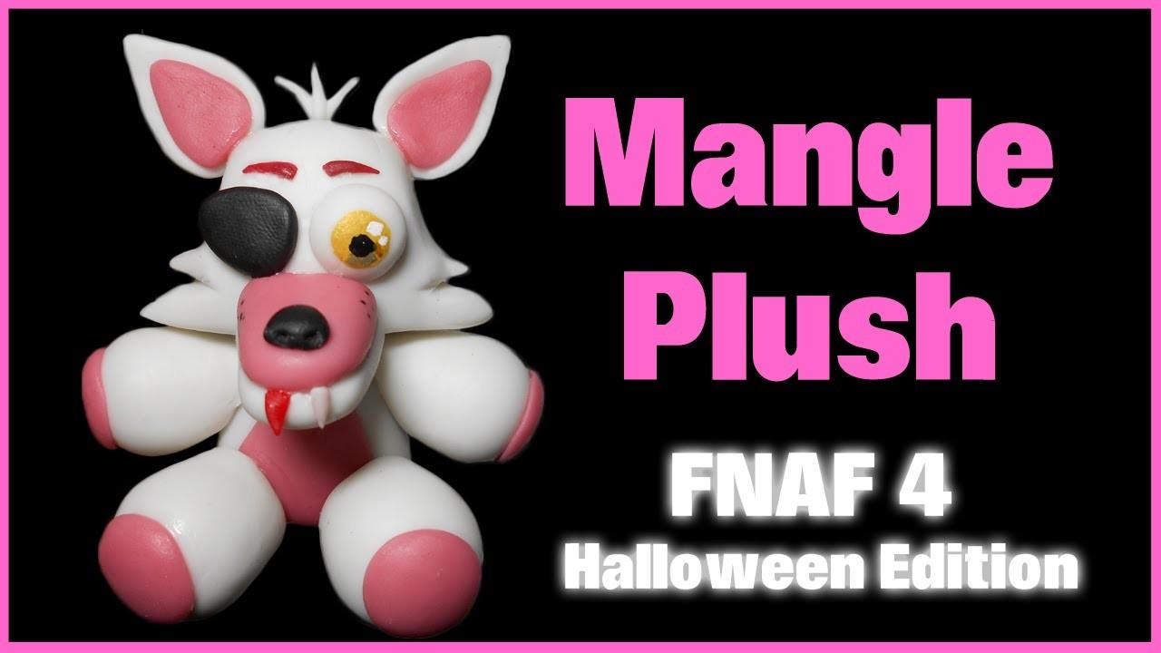 FNAF 4 HE | Mangle Plush Polymer Clay Tutorial | Porcelana Fría ★ Plastilina