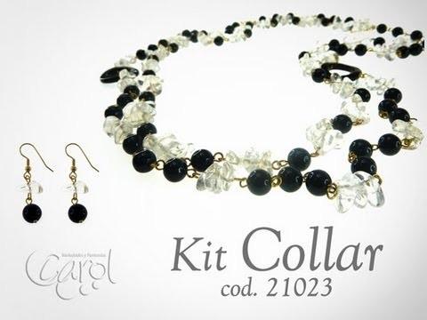 KIt 21023 Kit collar fosil cristal