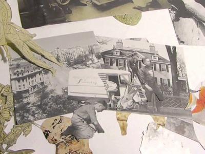 Piedra, papel y tijeras.taller de collage