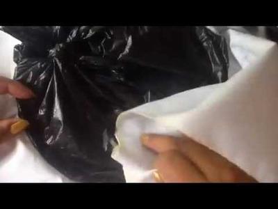 Pintura en tela como colocar  el áro para pintar con cony