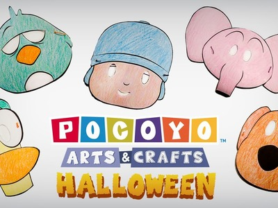 Pocoyó Arts & Crafts: ¡Máscaras de Halloween! [ep. 4]