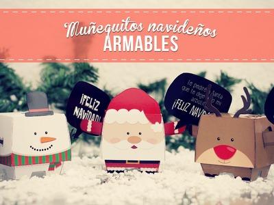 REGALO: Muñequitos armables para esta Navidad!