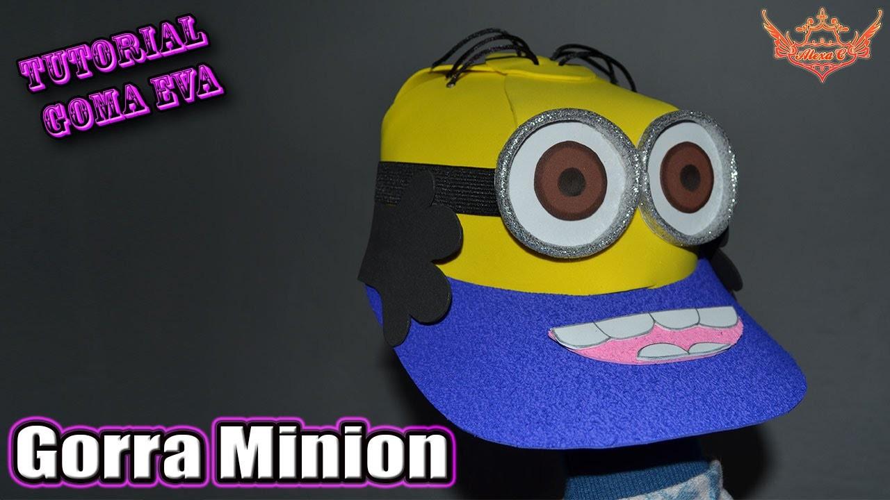 ♥ Tutorial: Gorra Minion en 3D de Goma Eva (Foamy) ♥