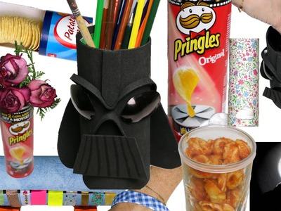 10 Life hacks con Pringles.