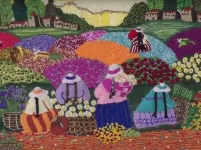 Como Bordar con Técnica Guatemalteca- Hogar Tv  por Juan Gonzalo Angel