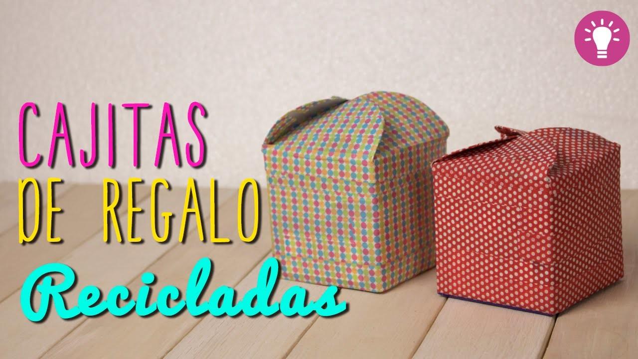 Como Hacer Cajas De Regalo Originales Cajitas Recicladas