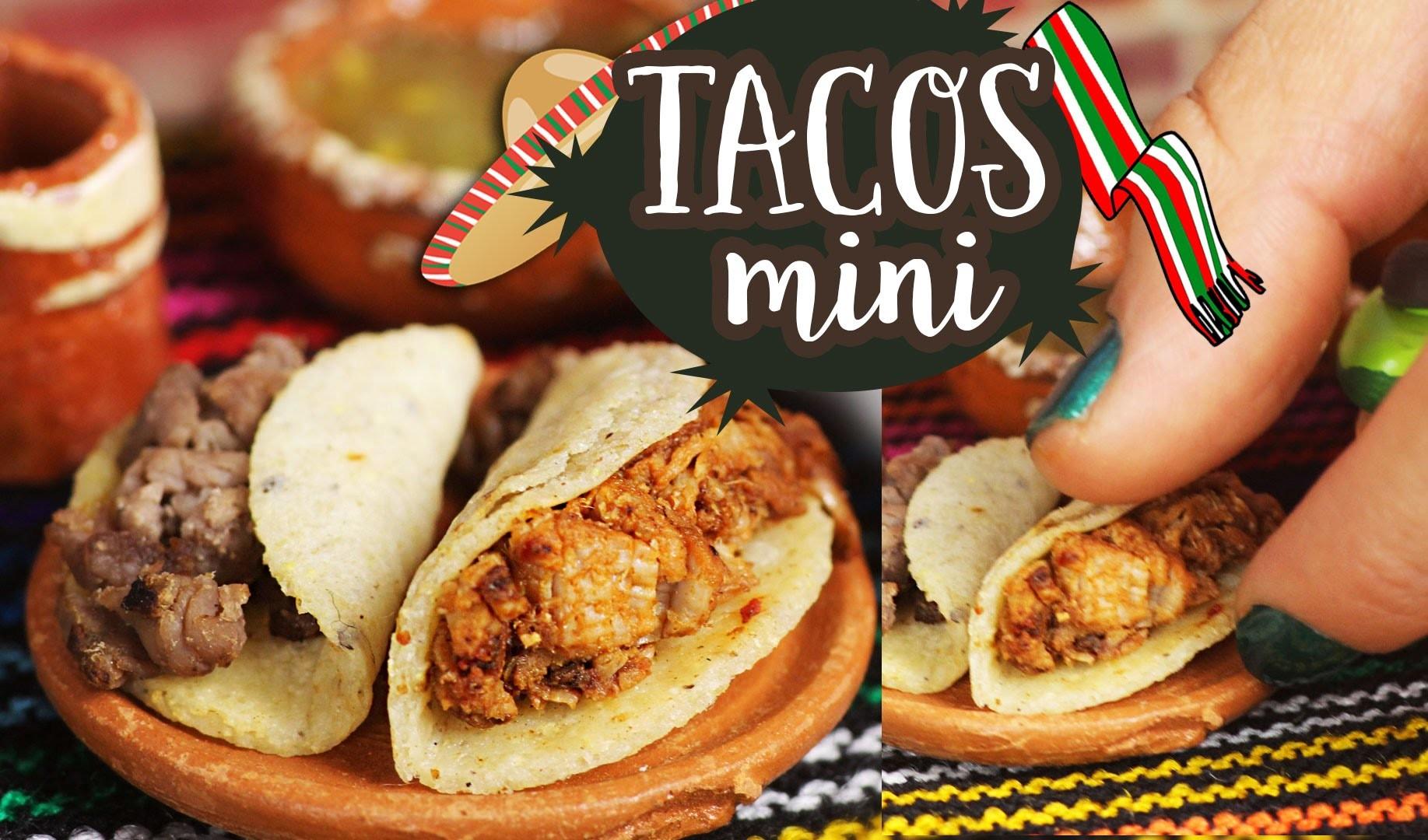 Cómo hacer mini tacos caseros: pastor y asada ✄ Craftingeek