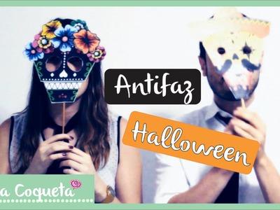 Cómo hacer un Antifaz para Halloween ^v^ Ft. Delcavideography