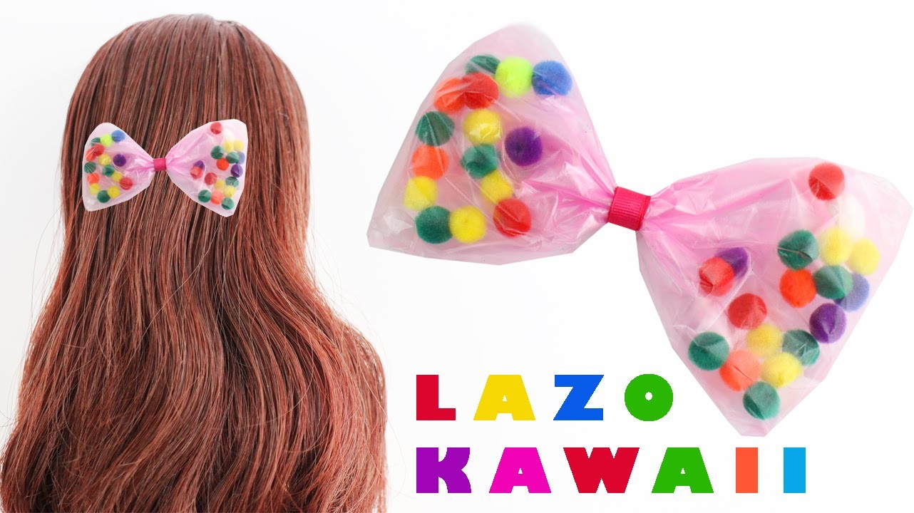 Cómo hacer un lazo al estilo  kawaii - Estilo representado Fairy Kei y Decora