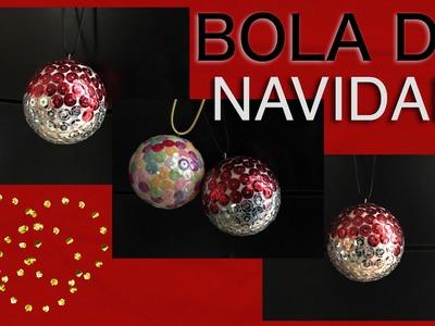 Como hacer una bola de navidad para decorar