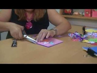 Como hacer una libreta personalizada con goma eva