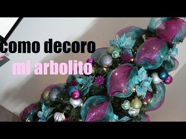 """Decoraciones navideñas """"MI ARBOL DE NAVIDAD """""""