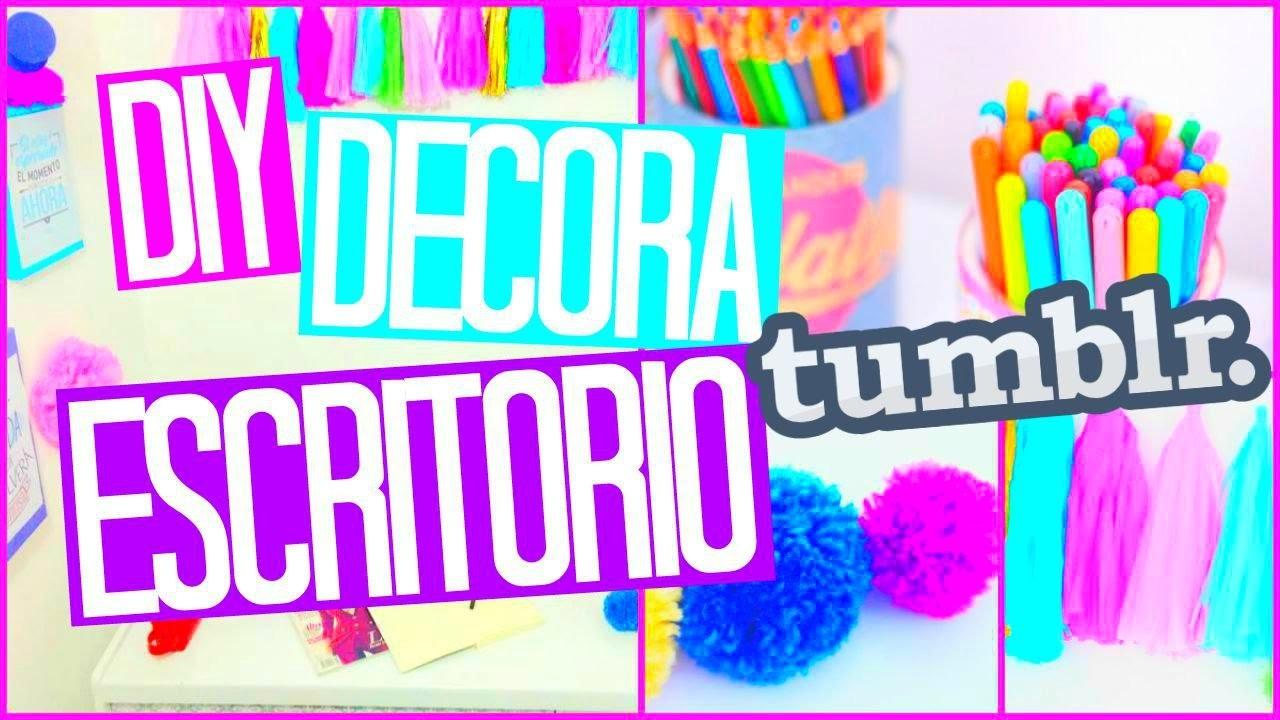 ❤DIY: DECORA TU ESCRITORIO 2015 | MORACUTE