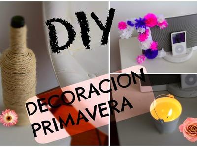DIY decoracion primavera - Pinterest