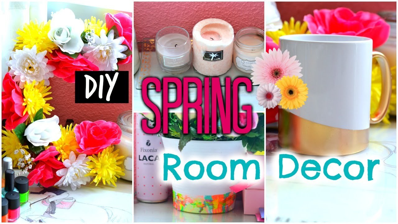 DIY SPRING ROOM DECOR ❀✿⎢Lady Scarlett