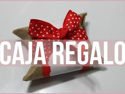 Especial de Navidad: Empaque para regalos miniatura- (Manualidades navideñas, reciclaje) Kathy Gámez