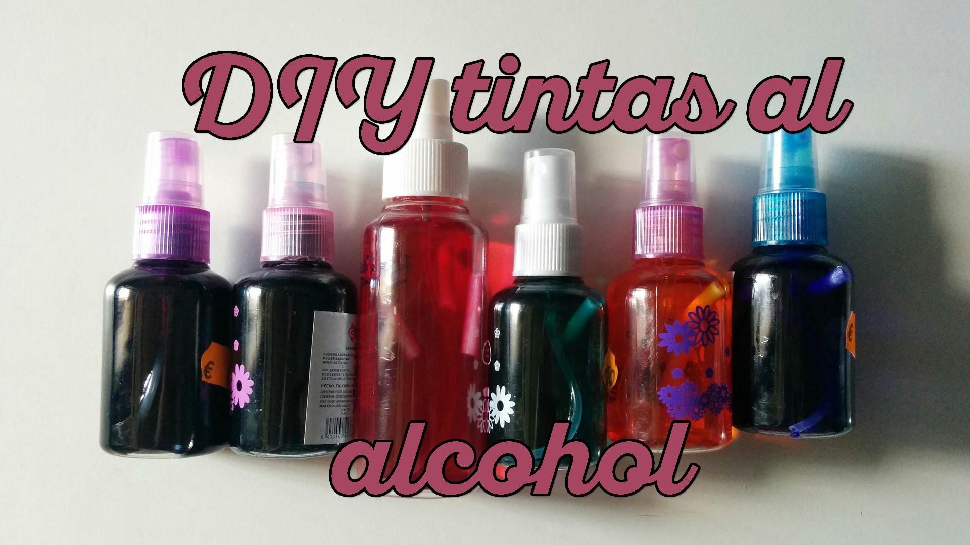 Haz tus propias tintas al alcohol (Resubido)
