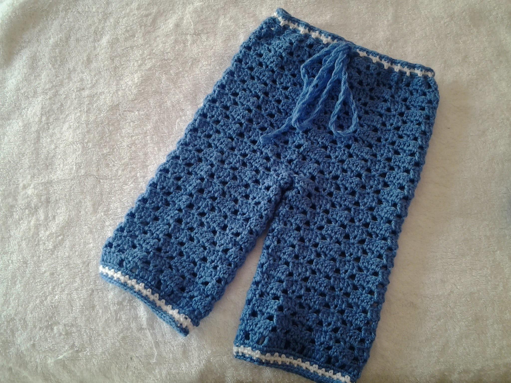Pantalon de bebe a crochet #tutorial #DIY