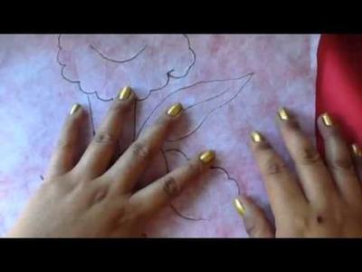 Pintura en tela como transferir diseños a tela obscura con cony