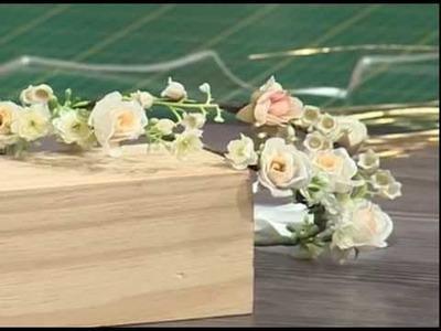 Tiara de flores para damitas