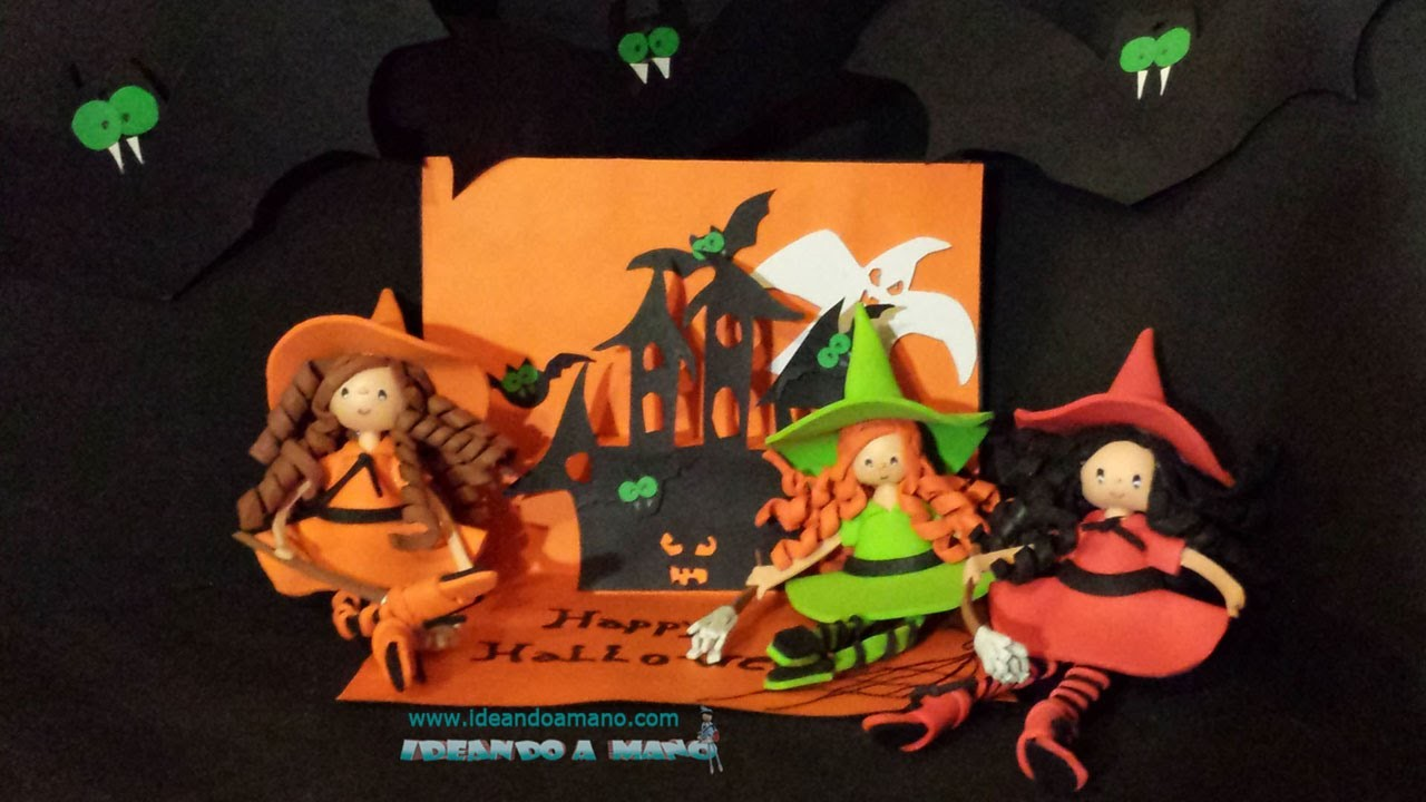 Unas brujitas para Halloween