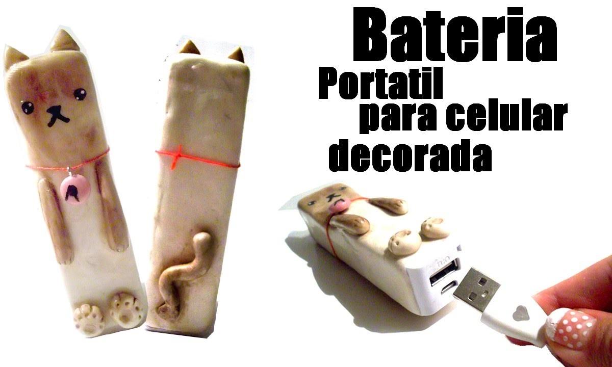 Bateria de gato.decora tu bateria. como decorar. DYI