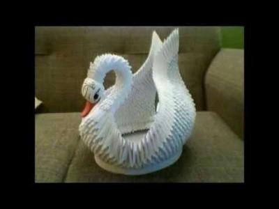 Cisne de papel