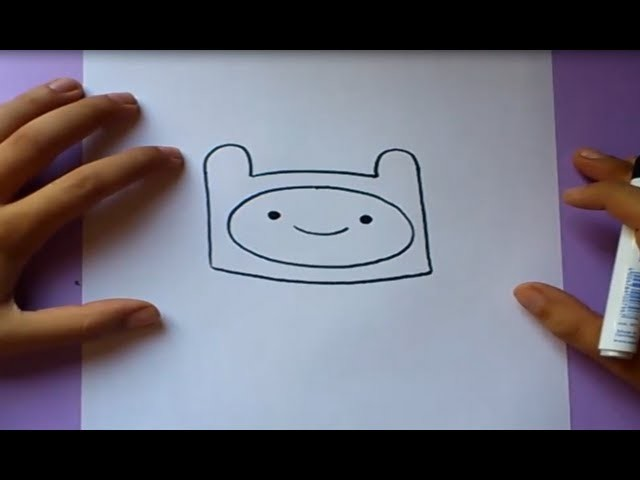 Como dibujar a Finn paso a paso - Hora de aventuras | How to draw Finn - Adventure time