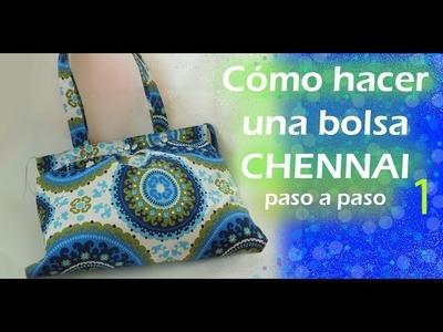 Cómo hacer una bolsa de tela. CHENNAI. paso a paso. TUTORIAL. parte 1. Inerya viris