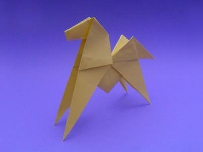 Como se hace un caballo origami