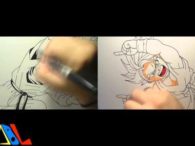 Dibujando a: Goten y Trunks