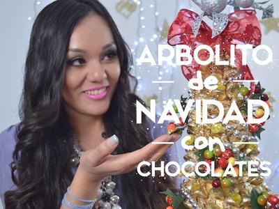 DIY - Arbolito de Navidad con Chocolates