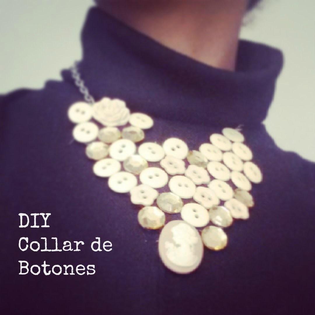 DIY: Collar de botones