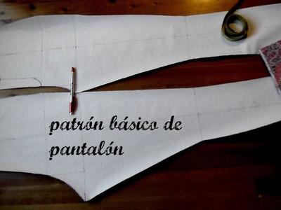 DIY:PATRÓN BÁSICO DE PANTALÓN