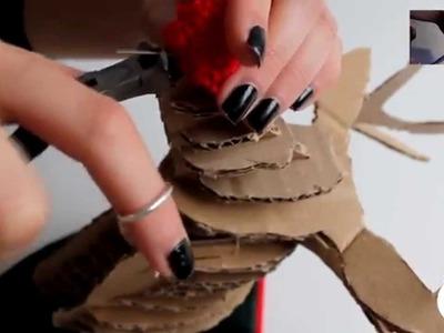 DIY: Reno de Cartón (Christmas Edition ❄)