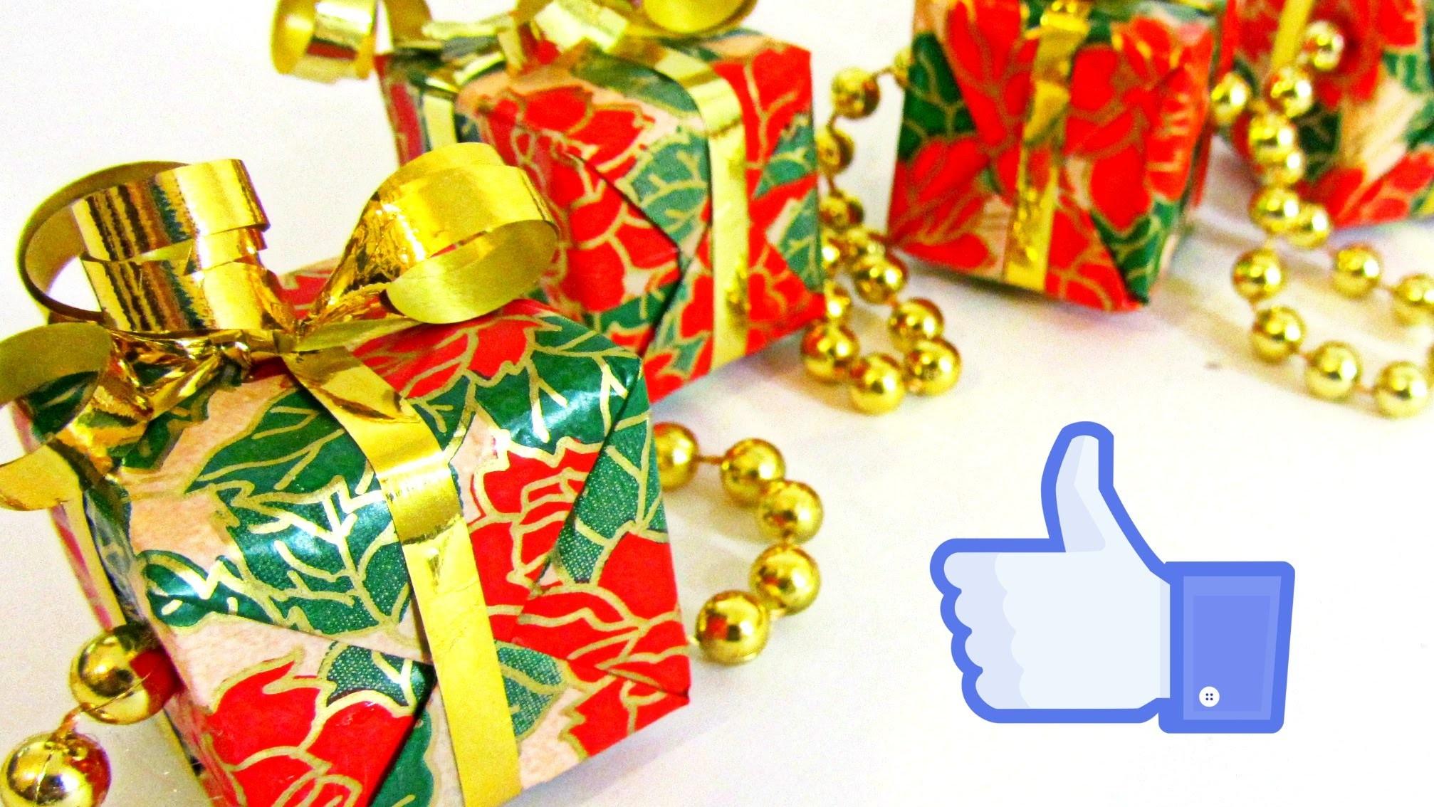 Guirnalda de regalos. Garland gifts