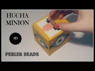 ☆ Hucha MINION en  3D Hama Beads (Perler Beads) ☆