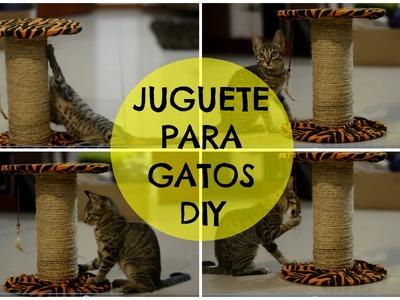 JUGUETES PARA GATOS FÁCIL !! DIY