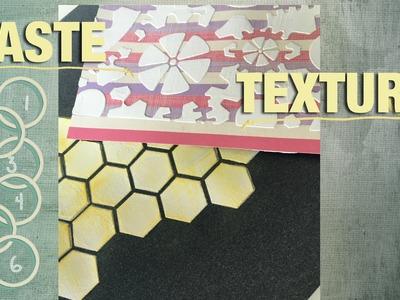 Masa de textura o pasta de relieve (texture paste)