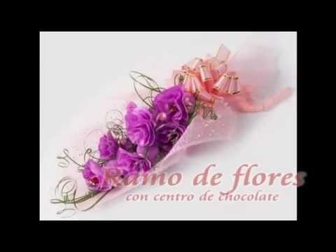 Ramo de flores con sorpresa bombón