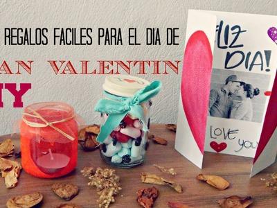 ♥ REGALOS FÁCILES Y BONITOS PARA EL DÍA DE SAN VALENTIN ♥