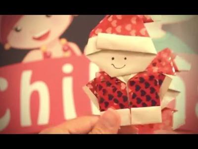 Santa Claus y Señora Claus - Origami