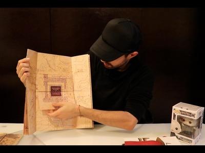 Aprende a hacer el Mapa del Merodeador - DIY