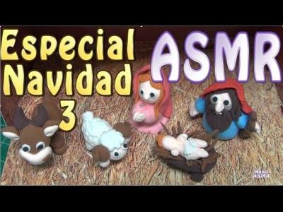 #ASMR español - Modeling Clay Magic Dough. Ox. Buey. Whispering. Susurros.
