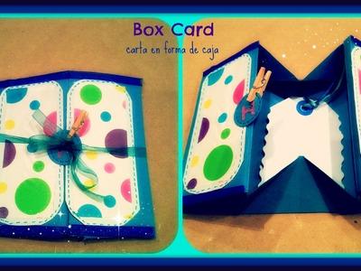 Box card