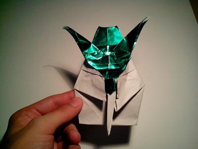 Como hacer al maestro yoda de origami