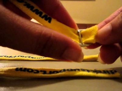 Como hacer un arnes o pechera para huron