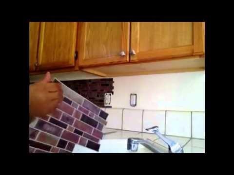 Como poner salpicaderas en tu cocina. How to change the backsplash in your kitchen