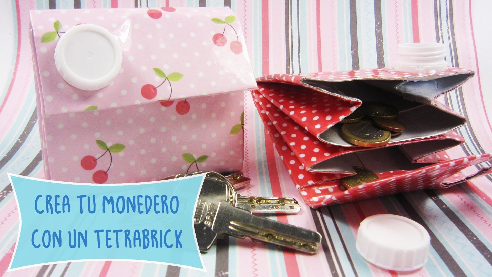 Crea un #Monedero con un Tetrabrick ♻