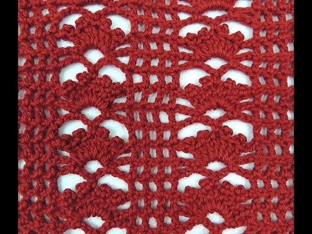 Crochet : Punto Malla con Flor
